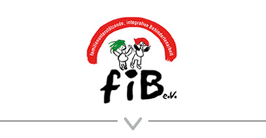 Button: Logo fib e.V. – integrative Behindertenarbeit