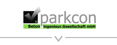 Button: Logo Parkcon Beton-Ingenieur-Gesellschaft mbH