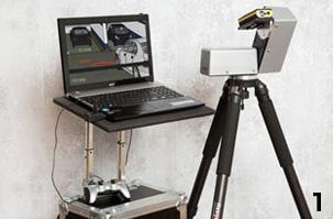 CAD-Laser für Bestandsaufnahmen