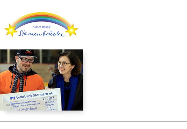 Sternenbrücke voplan spendet jährlich für das Kinderhospiz