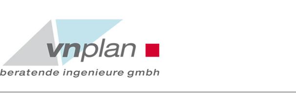 vnplan Logo: Tragwerksplanung für Bauobjekte