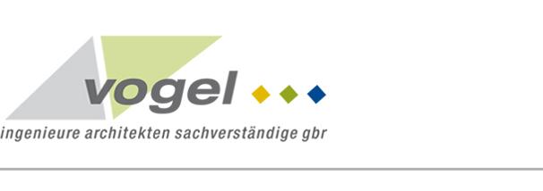 Logo vogel ingenieure architekten sachverständige Ingenieure, Architekten Sachverständige nach HOAI