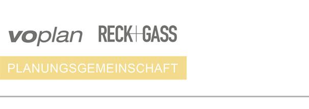 voplan, Reck+Gass Logo: Generalplaner für Bauwerksinstandhaltung